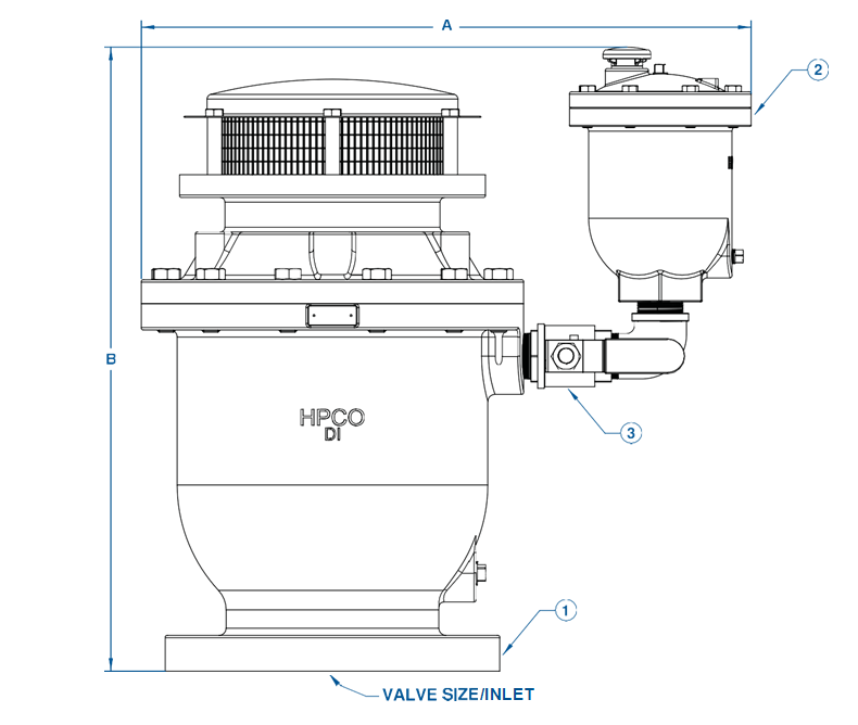 Series WCVD Combination Air Valves (Dual Body)