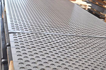 Alloy Steel Perforated Sheets