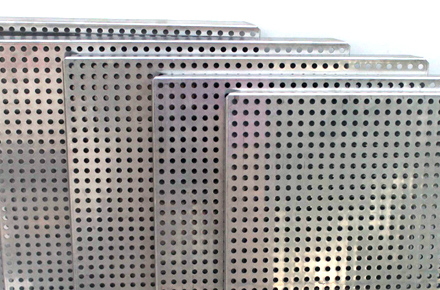 Duplex Steel Perforated Sheet