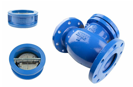 Steel Flanged Dual Plate Check Valves