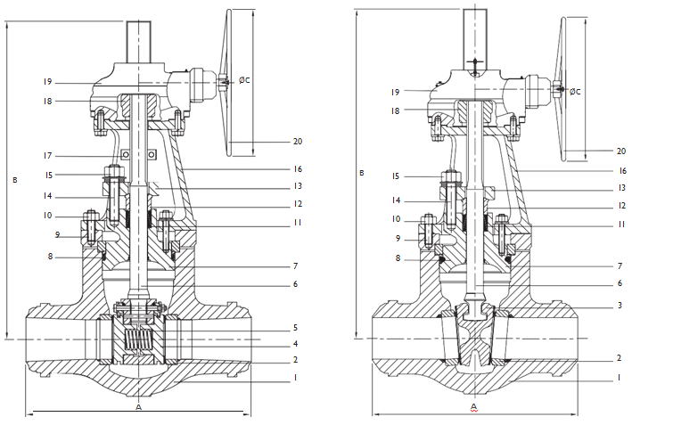 Parallel-slide Gate Valves