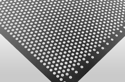 Mild Steel & Carbon Steel Perforated Sheet