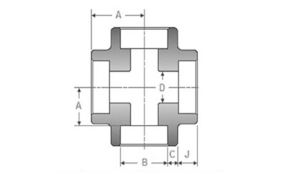Socket Weld Equal Cross Dimensions