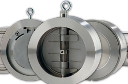 Steel Wafer Dual Plate Check Valves